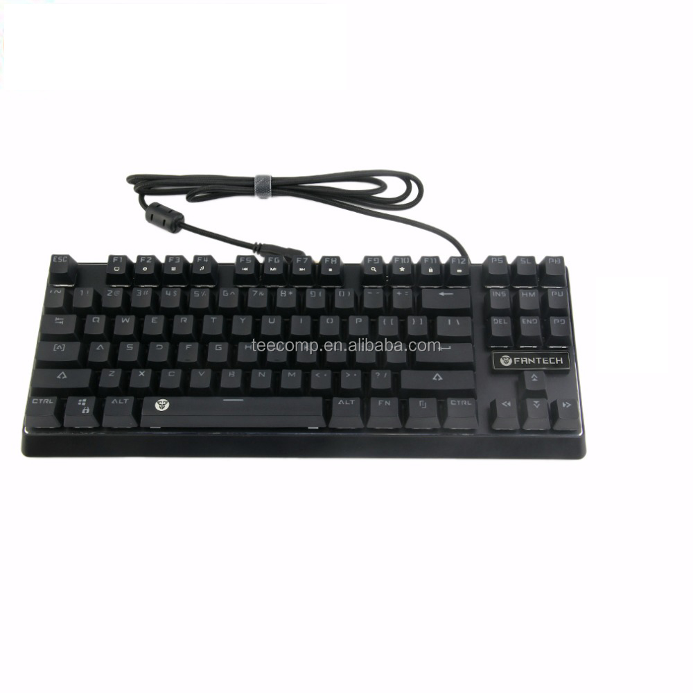 df0e13a6f10 Fantech Internet cafe Best gaming keyboard mechanical taclado rgb lighted gamer  keyboard gaming