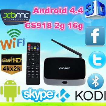 Cs918 Android Tv Box 4 4 Rk3188 Quad Core Q7 Smart Tv Media Player Wireless  Remote Cs918 Rk3118 2g 8g - Buy Cs918 Rk3188 Android4 4 Tv Box,Cs918 Q7