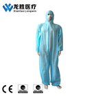 Breathable Microporus Waterproof Disposable Coverall With Hood