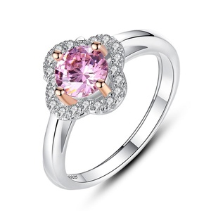 Sterling Silver 925 CZ Rings Exclusive to women