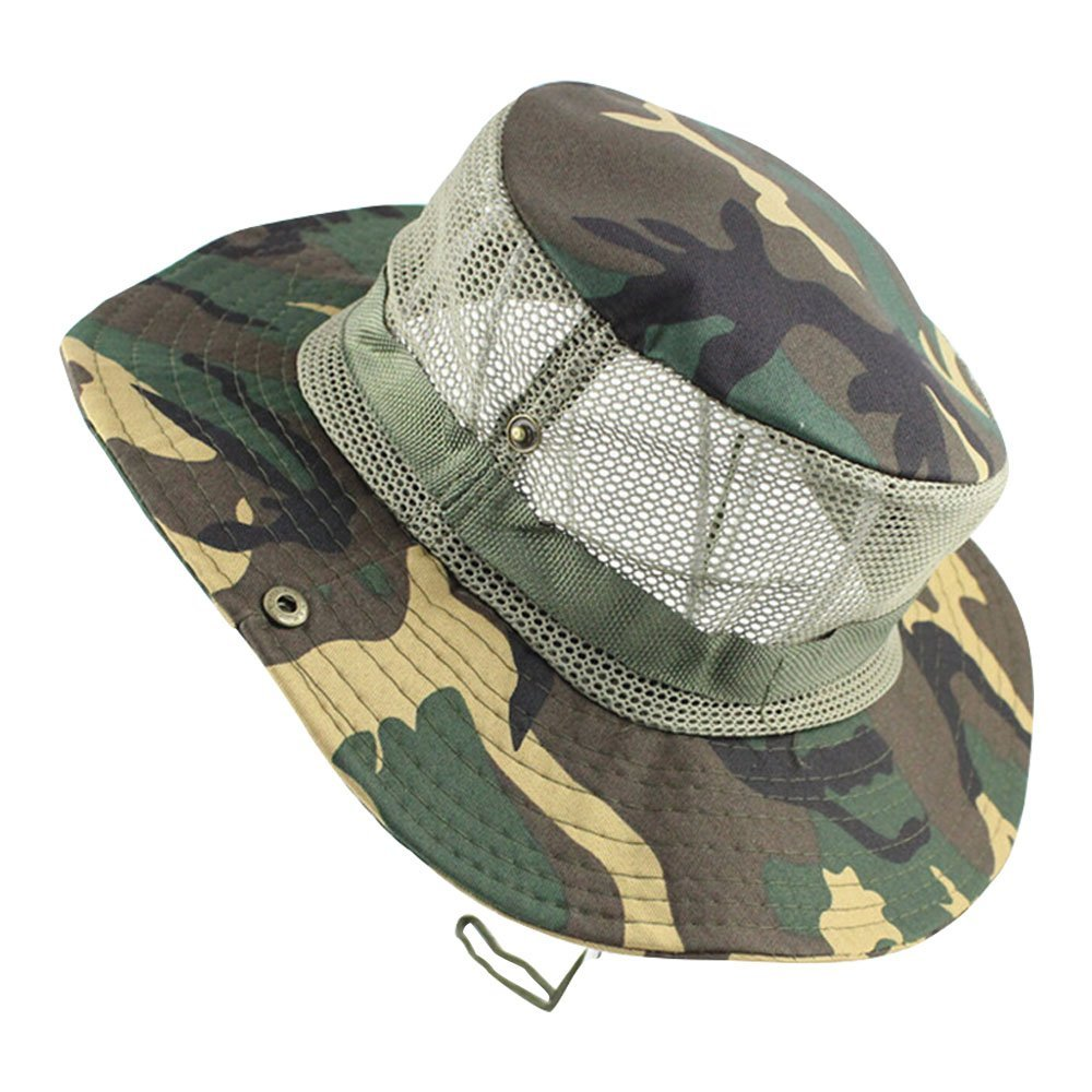 b5f7c94758f Get Quotations · Eastlion Army Military DPM Camo Outdoor Sun-shading Sun Boonie  Bucket Camouflage Bucket Hat Hat