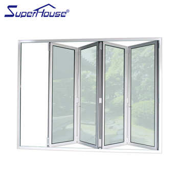 Superhouse Glass Door Shop Front Aluminum Profile Windows Fiberglass
