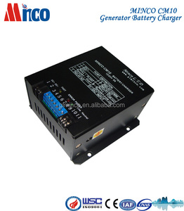 CM10 portable 12V 24V automatic genset battery charger