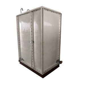 GRP sectional water tanks for UAE