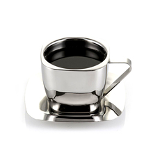 Food Grade Double Schicht <span class=keywords><strong>Edelstahl</strong></span> CoffeeCupBPA Freies <span class=keywords><strong>Edelstahl</strong></span> TeaCupStainless Stahl CoffeeCupWith Griff