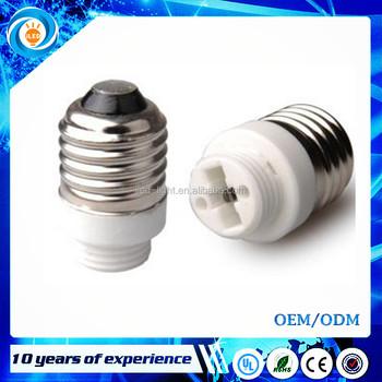 Ceramics E27 Male To G9 Female E27 To G9 Lamp Base Holder Adapter ...