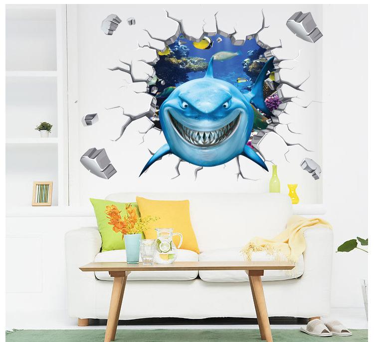 Wall Shark Finding Nemo Submarine
