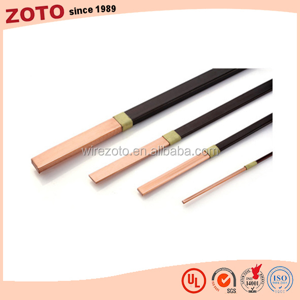 High Insulation Triple Film Flat Enamel insulated Copper Magnet Wire