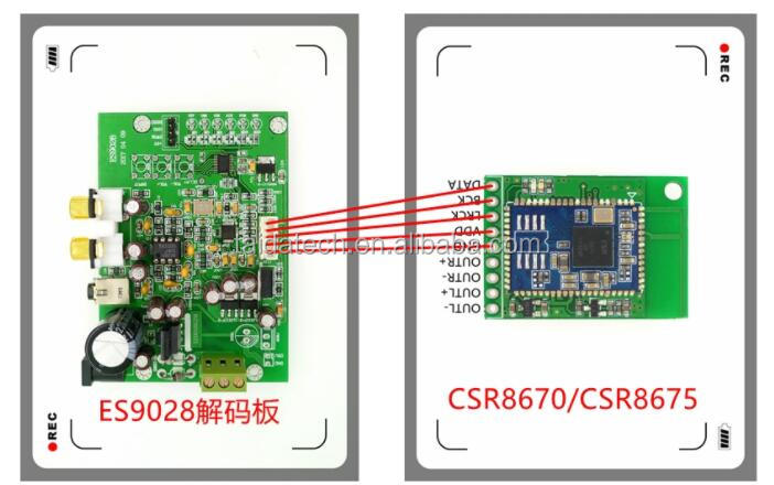 I2s Digital Input Audio Dac Decoder Board 9018 Csr8675 Bluetooth Module  Es9028q2m - Buy Es9028q2m Dac Decoder Board,I2s Audio Module,Csr8675  Bluetooth