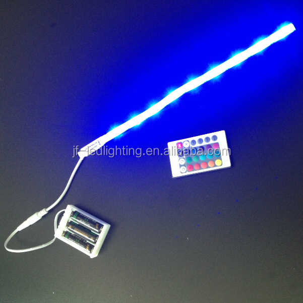 Supermarket Lighting Battery Operated Colour Changing Led Lights Strip 60cm