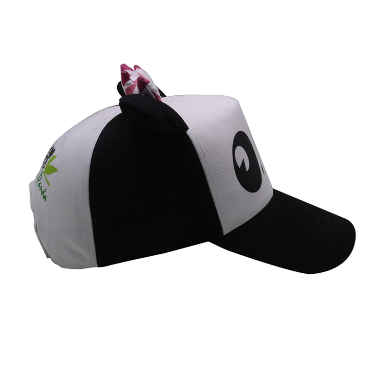 Cute Custom LOGO Earflap Printed Baby Baseball Hat