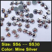 Better Quality Than DMC, Bright Strass Flatback Crystal Stones SS6 to SS30 Hotfix Rhinestones For Wedding Dress Design