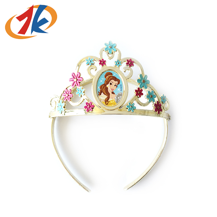 Girls Fashion Birthday Party Plastic Princess Crown