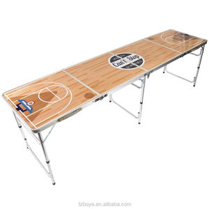 8ft Beer Pong Table Folding Table