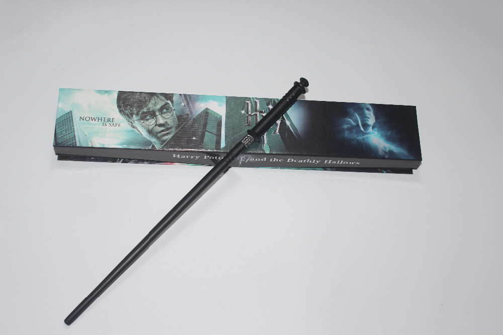 Genuine Super Quality Death Eater Yaxley Magic Wand Cosplay Prop Harry Potter Movie Toy Stick