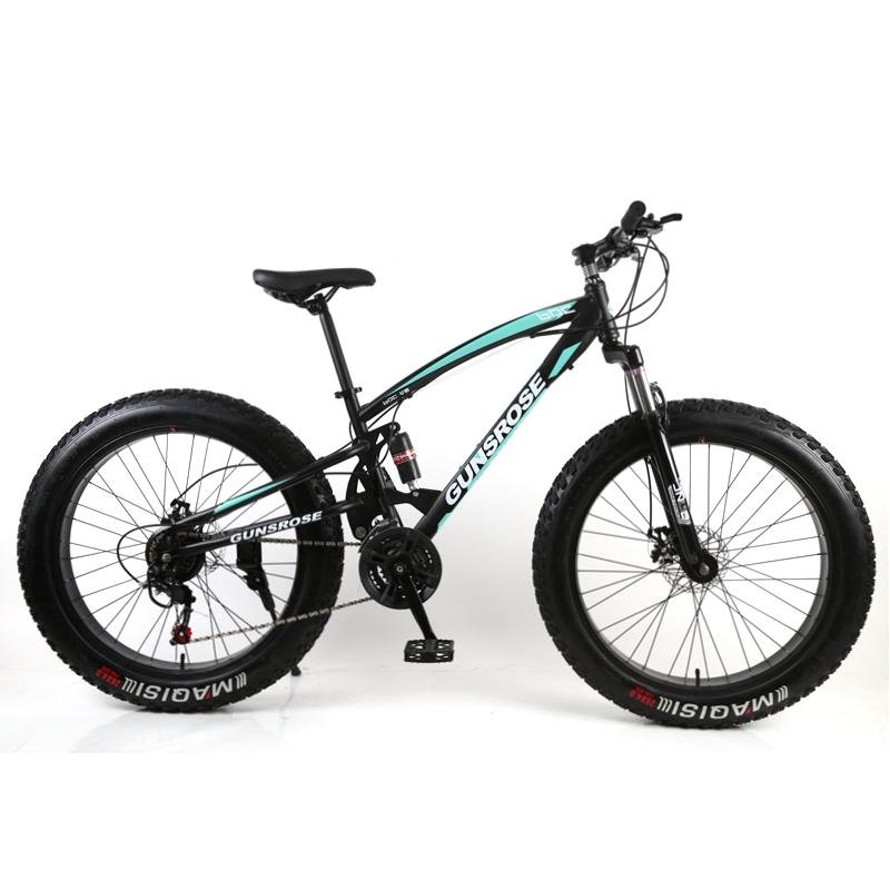Big tyre bike 26 inch thick wheels fat tire bike / big bike mountain bicycle for adult