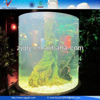 Large Round Acrylic Aquarium Buy Large Round Acrylic Aquarium Acrylic Fish Aquarium Large Aquariums For Sale Product On Alibaba Com