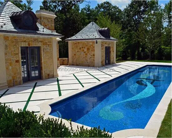 Low Price Glass Mosaic For Swimming Pool Tile Dolphin Mosaic Blue ...
