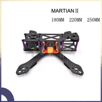 Martian II 250MM 220MM 180MM RX250 FPV 100% Full Carbon fiber DIY RC Drone Quadcopter Frame