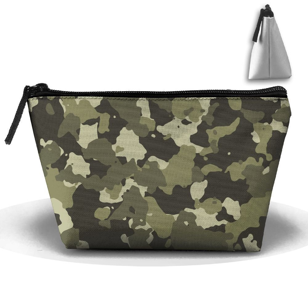 b1d2c4d70f Get Quotations · Toiletry Bag Camo Camouflage Women Cosmetic Bag Makeup Bag