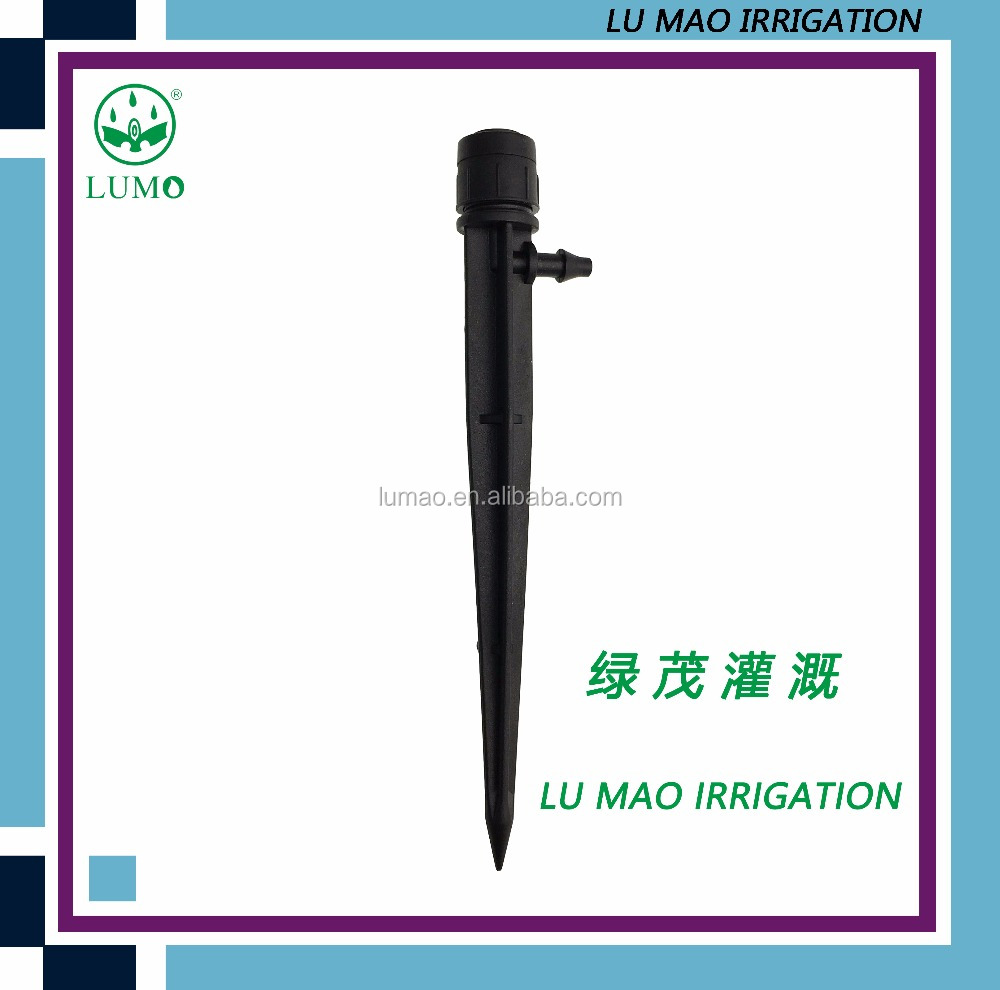 Micro Drip Irrigation Plastic Adjustable Mini Dripper Emitter On Fruit Tree Micro Sprinkler