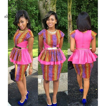 412e9cf8d151 Fashion African print dress style, dashiki african dress clothing, two piece  african dress with