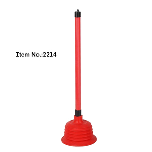 HQ2214 factory blue green pink PVC sink powerful toilet plunger