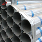 Professional pre galvanized large diameter steel pipe
