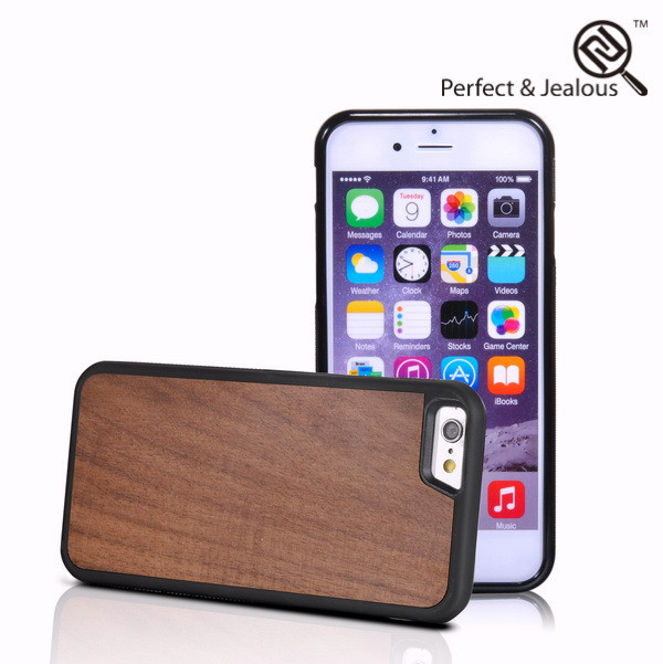 2015 new phone accessories Genuine wood for mini i pad case