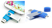 Vortical usb flash drive for mobile phone for wedding gift with good price