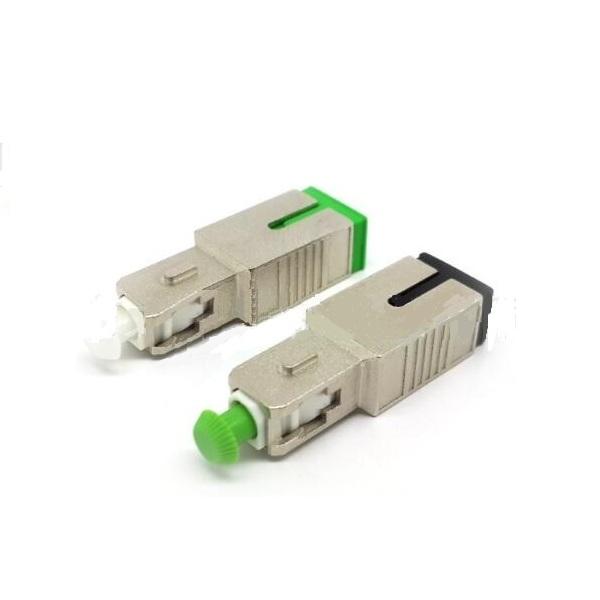 Simplex adaptador dúplex SC LC FC ST PC UPC fibra óptica adaptador