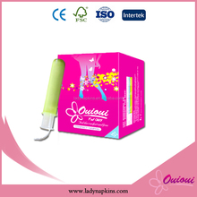 Wholesale soft compact applicator tampons from shenzhen