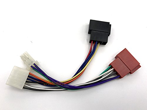 Buy autostereo auto car stereo audio harness adapter cable 12 122