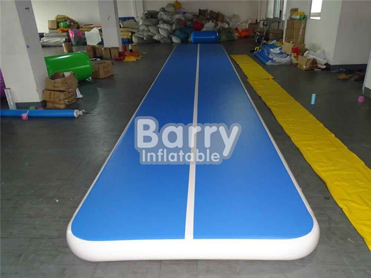 Guangzhou Barry inflatable Factory Wholesale Price,Gym mat Air tumble track, inflatable air mat for gymnastics