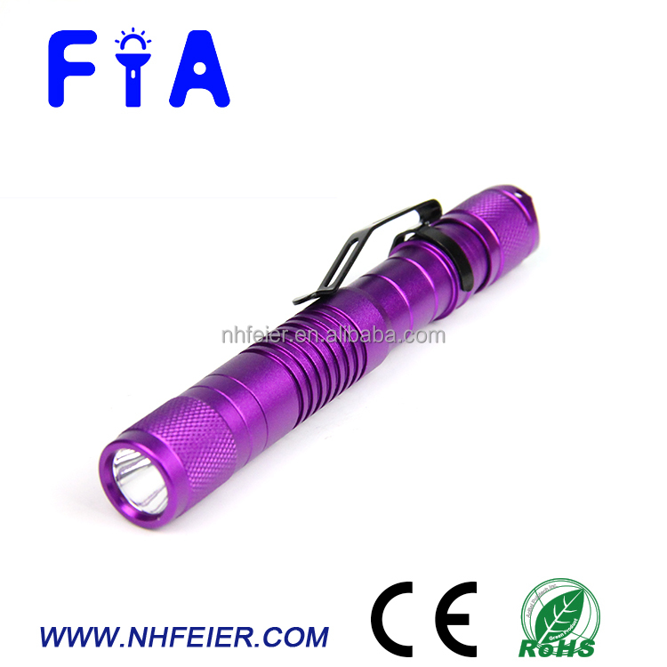Factory supply new design high power UV black light flashlight for medical, scorpion , pet urine detection
