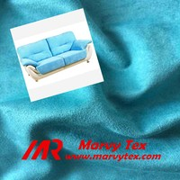 stretch upholstery fabric weft knitted fabric suede