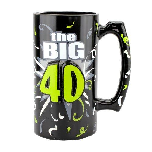 Top Shelf 40th Birthday Happy Birthday Beer Stein