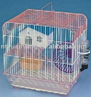 acrylic hamster cage colorful pet cage wire hamster cage