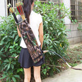 Oxford Shoulder Strap Adjustable Water Resistant Camouflage Archery Arrow Quiver Holder For Hunting Arrow Shotting Enthusiast
