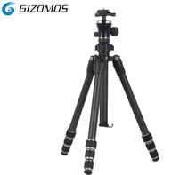 Professional industrial portable dslr photo carbon flexible survey camera tripod