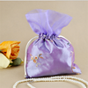 drawstring satin sacks for jewelry packaging