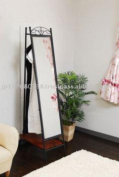 Wrought Iron Standing Mirror Iri-011 - Buy Wrought Iron Standing ...
