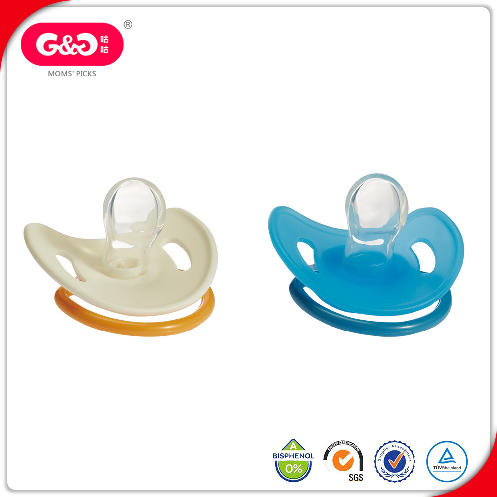 BPA free Baby Infant Orthodontic Dummy Teether Silicone Nipple Soother Pacifier