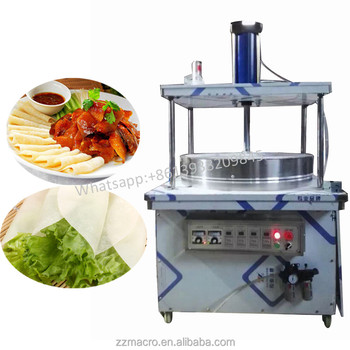 Double Plate Gas Crepe Maker Pancake Machine