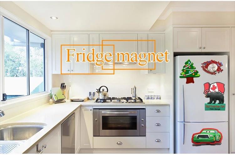 Lista de compra personalizada relativa à promoção da venda quente ímã do refrigerador