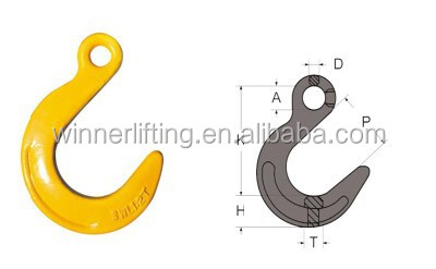 Hevery duty G80 Foundry Eye hook with best quality