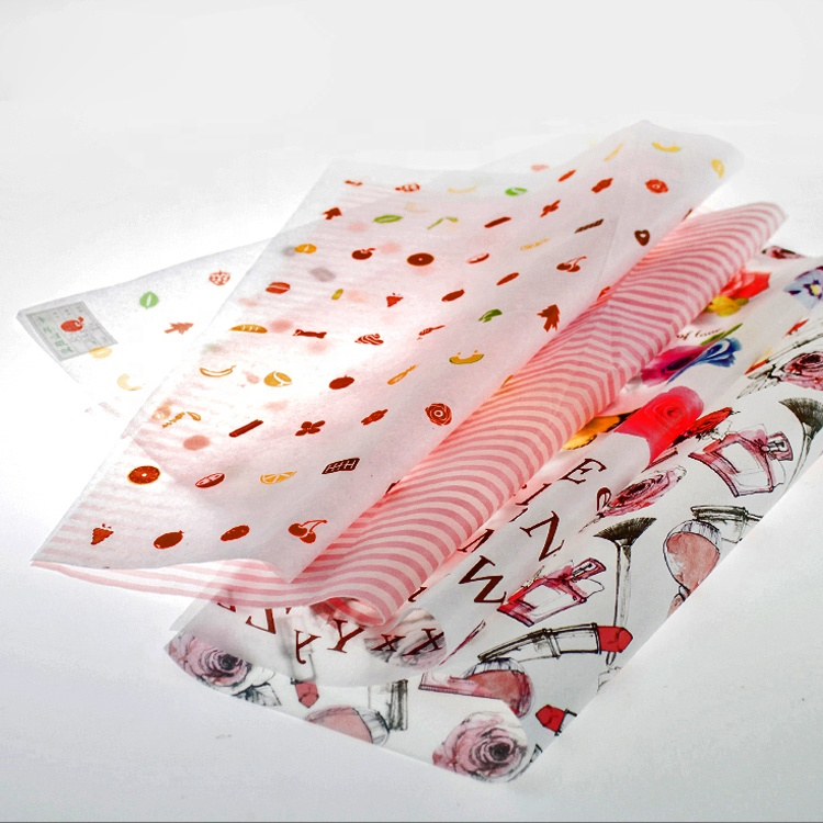 Gift Flower Colorful Roll Manufacturers Suppliers Custom Printed Tissue Wrapping Paper