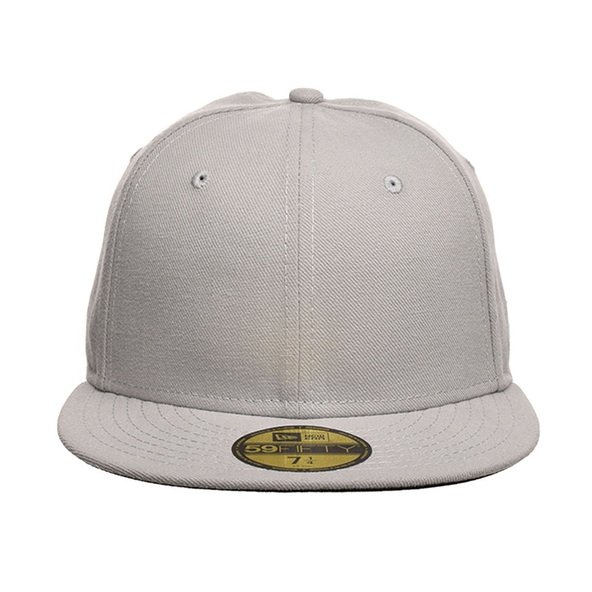 e0f347f888a New Era Blank 59Fifty Fitted Hat (Gray)