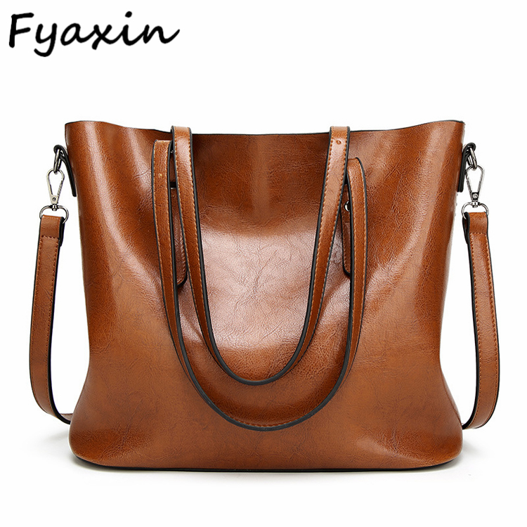 Promotion shoulder bag with long strap European and American fashion simple ladies big tote hand bags