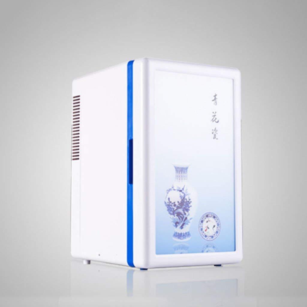 Peaceip 16L Dual Core Refrigeration Portable Fridge Small Freezer Car And Home Dual-use Refrigerator Mini Fridge 12v/220v Vehicle refrigerator Car refrigerator Fridge